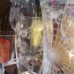 Grawerowanie szklane kieliszki