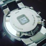 Grawerowanie laserowe na zegarku marki Rado