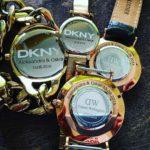 Grawerowanie laserowe na zegarkach #dkny